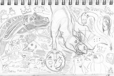Sketches5 by femaleceratosaurus