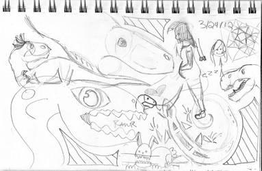 sketches6 by femaleceratosaurus