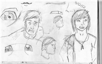 Sketches7 by femaleceratosaurus