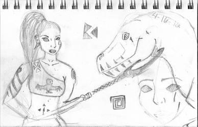 Sketches9? by femaleceratosaurus
