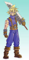 Redesign: Cloud Strife by FontesMakua