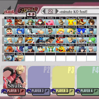 Super Smash Bros. (Wii U/3DS) Roster (8/13 Update) by shadow0knight
