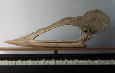 Tupuxuara leonardii (foam sculpture) by helderdarocha