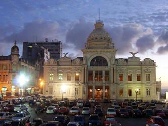 Palace in Salvador by helderdarocha