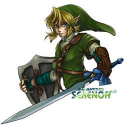 The Legend of Zelda by SERENOA