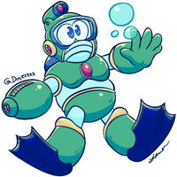 Bubbleman by Dog22322