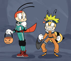 Halloween Heroes by Dog22322