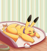 Pokepets- Sleeping In by Dog22322