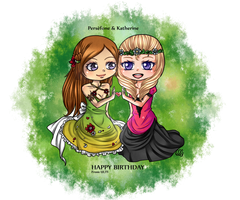 Happy birthday bby's by TheULTImateAngel