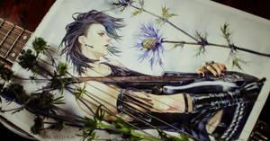 Yuhi - watercolor by khaoskai