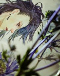 Yuhi - watercolor / details by khaoskai