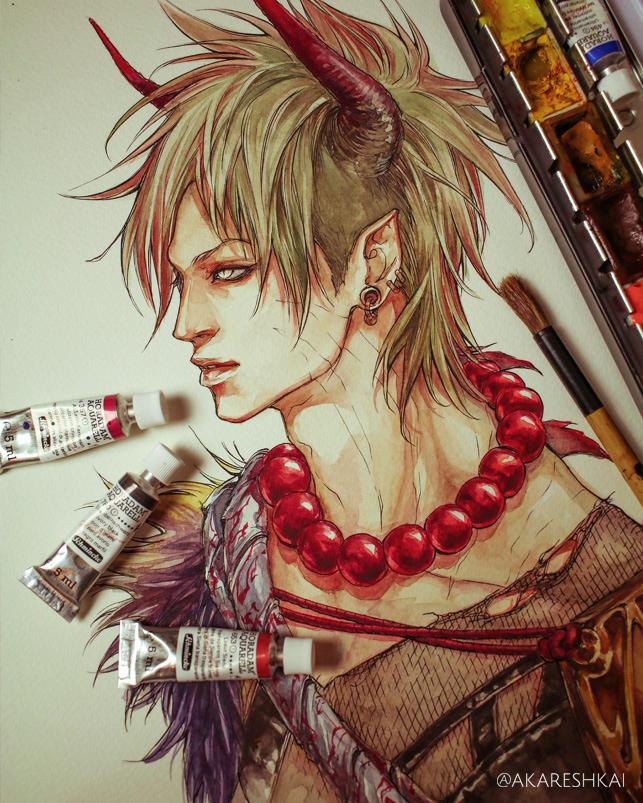 Demon by khaoskai