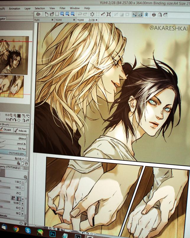 Yuhi comic by khaoskai