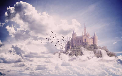 Floating Castle. by Rudakzmm