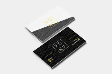 Stylist Presentation Card by Rudakzmm