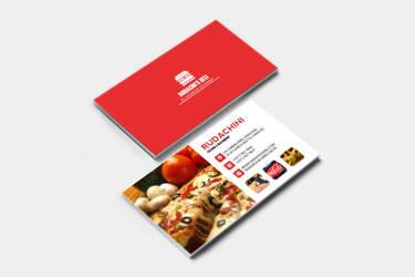Restaurant Presentation Card by Rudakzmm