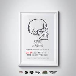 Living Dub Event Flyer by Rudakzmm