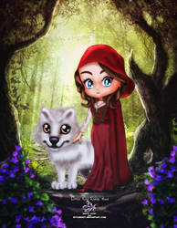 Little Red Riding Hood by EvyLeeArt