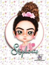 Paula Stephania 02 by EvyLeeArt