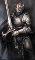 concept knight by TsimmerS