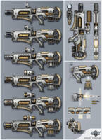 machine gun by TsimmerS