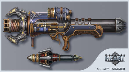 rocket launcher by TsimmerS
