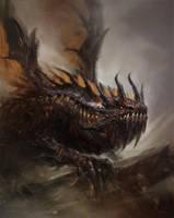 sketch dragon by TsimmerS