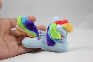 TINY Rainbow Dash Plush Charm by SweetEmii