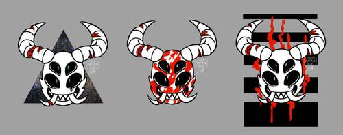 Masks set 1 by AlexTheShark