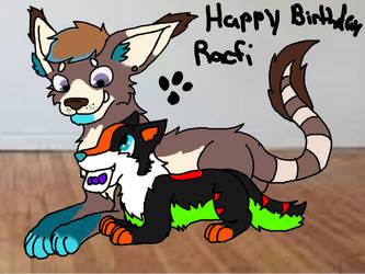 Happy birthday racfi by JuxieGamerElite105