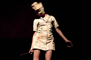 Silent Hill Nurse by couvexx