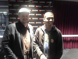 Me and Chris Cason by MasterZeoKnight15