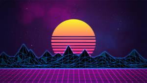 Retrowave Neon 80's Background - 4K by Rafael-De-Jongh