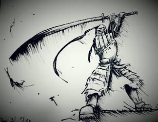 Inktober 31 : Slice by Yian-garuga-anonyme
