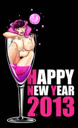 Happy New Year 2013 by jaeTanaka