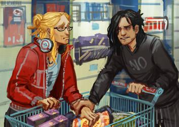 25/30 Shopping by Malacandrax