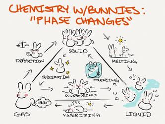 Bunny Phase Change by uberbunbun