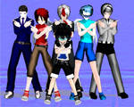 My Transformers OCs in MMD Form by liongirl2289