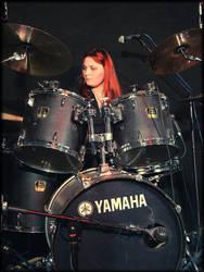 Marta Medler, drummer by Onatra