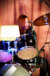 Me drumming last Saturday by Onatra
