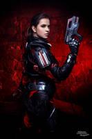 Sara Ryder Mass Effect Andromeda cosplay by Atai