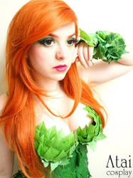 Poison Ivy from DC comics by Atai