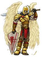 Angel Warrior 1 by andrewchandler80