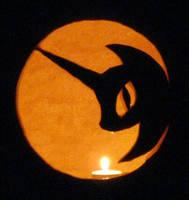 2011 Nightmare Moon Pumpkin by Framwinkle