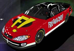 Freakazoid Nascar Front by Framwinkle