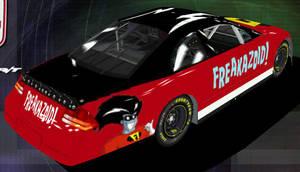 Freakazoid Nascar Back by Framwinkle
