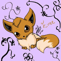 Evee by Fantailed-Hedgehog