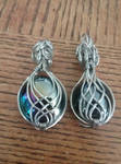 Wire Wrapped Pendants by BlueBoyBlitz