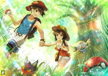 Pokemon - Ultra Sun Ultra Moon - Concept art by chinchongcha