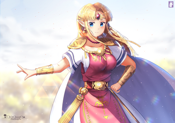 Zelda Princess by chinchongcha